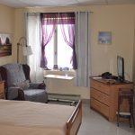une chambre du CHSLD