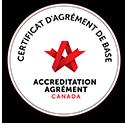 Certificat d'agrément de base Canada
